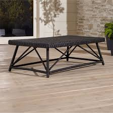 Crate And Barrel Outdoor Furniture Covers by Calistoga Coffee Table Crate And Barrel