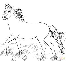 free online horse coloring pages games colouring kids horse