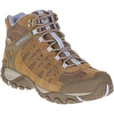 womens boots for hiking merrell s accentor mid ventilator waterproof hiking boots