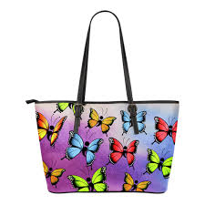 semicolon butterfly tote bag groove bags