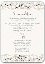 wedding invitations inserts top tips for writing your wedding information insertsivy