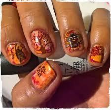 thanksgiving manicure nail by avesur europa nailpolis