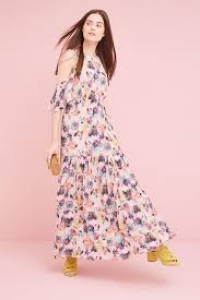 cold shoulder dress kalia floral cold shoulder dress pink anthropologie