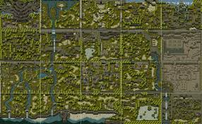 Final Fantasy 1 World Map by The Video Game Atlas Psx Maps