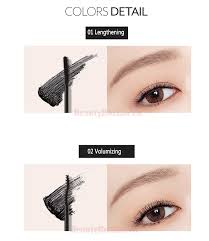 Mascara Meme - beauty box korea memebox pony shine easy glam blossom mascara 7 5g