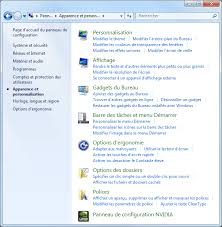 afficher bureau windows 7 affichage windows 7 aidewindows