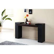 Entrance Tables Furniture Black Espresso Contemporary Console Table Furniture Graphite