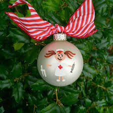 nurse ornament personalized nurse appreciation christmas