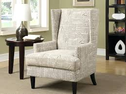 Animal Print Accent Chair Zebra Accent Chair Accent Chair Beige Newspaper Print By Coaster