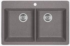 blanco metallic gray sink blanco 401668 horizon 2 bowl drop in silgranit sink metallic gray