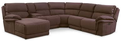 Value City Sectional Sofa by The Monterey Collection Mocha Value City Furniture