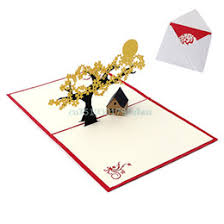 pop up house card pop up house greeting card for sale