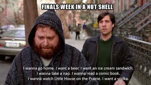 College Finals Meme - yup this is finals week in a nutshell college collage http