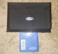 ford truck car etc owners manual pouch w lens cleaner no books