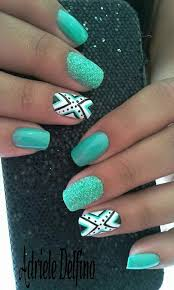 best 25 aztec nails ideas on pinterest tribal nail designs