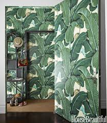 Steven Sclaroff 10 Of My Favorite Interiors With Palm Leaf Wallpaper Live The