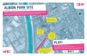 louisiana state map key downtown 6 albion park site play the la river