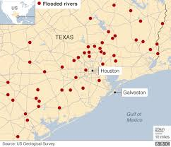 of houston cus map in maps houston and flooding