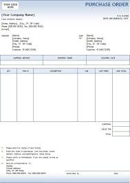 Excel Purchase Order Template 5 Purchase Order Templates Excel Pdf Formats