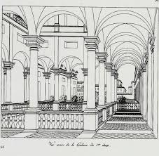 baroque palace palazzo balbi senarega loggia 1st floor now the