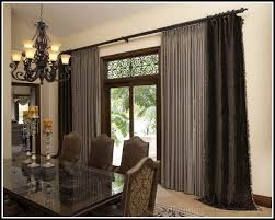 Patio Door Curtain Rod How High To Hang Curtain Rod Above Sliding Door Gopelling Net