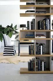 contemporary home furniture ideas with bookshelf room divider