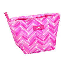 amazon com scout crown jewels cosmetic bag back to the fuchsia