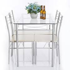 glass dining room table set glass dining room tables lightandwiregallery