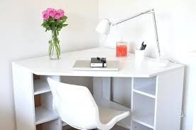 office desk white office corner desk with this easy plan you can