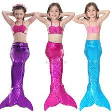 swimmable mermaid tails girls ebay