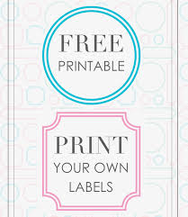 print your own labels free printable 360 degree