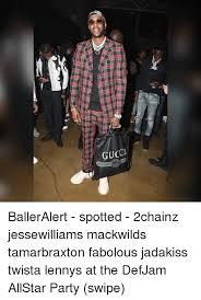 Jesse Williams Memes - gucc balleralert spotted 2chainz jessewilliams mackwilds