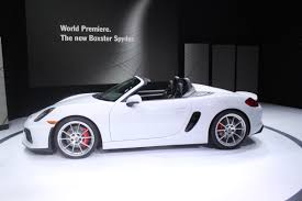 nissan spyder porsche boxster spyder returns for 2016 autoguide com news