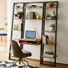 Ladder Style Computer Desk by Ladder Shelf Storage Desk West Elm Au