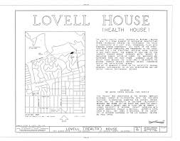 House Dimensions File Lovell Health House 4616 Dundee Drive Los Angeles Los