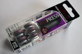 broadway nails impress press on manicure review glitter u0027n spice
