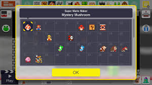 unlocking building items and more in super mario maker v1 01