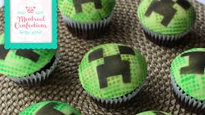 minecraft cupcakes how to make domed creeper cupcakes easy minecraft cupcakes
