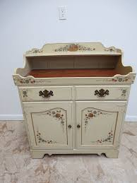 ethan allen hitchcock painted server sideboard cabinet dry sink
