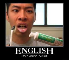 Funny Memes In English - funny meme i told you to learn english pincaption