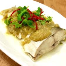 ginger ginger sauce steamed fish recipe kitchenbowl
