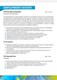 Journalist Resume Sample by Acupuncture Resume Templates And 2015 Examples 7