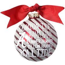alabama ornaments centerpiece ideas