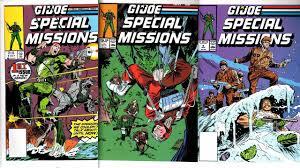 gi joe yearbook g i joe special missions 1 7 marvel comics 1986 1989