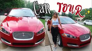 car tour 2015 jaguar xf paige secosky youtube
