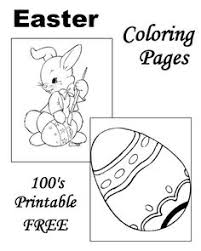 free printable easter coloring pages hundreds print