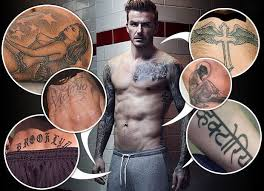 beckham tattoo in hong kong he s inked it all over the sun
