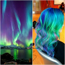 trend colors aurora borealis hair color ideas popsugar beauty