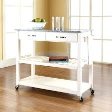 kitchen island cart with granite top white kitchen island cart bloomingcactus me