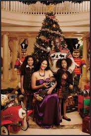 kimora lee u0027s family christmas card u2013 mad news uk